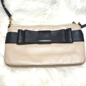 Kate Spade Crossbody with Bow Detail Black tan